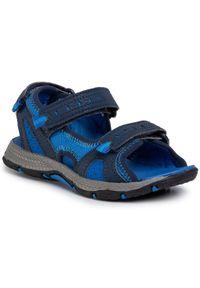Niebieskie sandały Merrell klasyczne, na lato