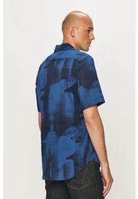 G-Star RAW - G-Star Raw - Koszula. Okazja: na co dzień. Kolor: niebieski. Materiał: tkanina. Styl: casual