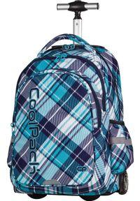 Patio plecak na kołach COOL PACK KÓŁKA NIEBIESKI kółkach. Kolor: niebieski