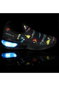 Bibi - Sneakersy BIBI - Space Wave 2.0 1132102 Blak/Print. Kolor: czarny. Materiał: materiał. Wzór: nadruk