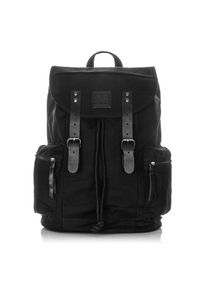 Czarny plecak HAROLD'S
