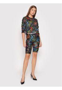 Versace Jeans Couture Bluza 71HAI309 Czarny Regular Fit. Typ kołnierza: kołnierzyk włoski. Kolor: czarny
