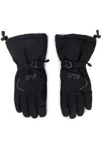 Czarna rękawiczka sportowa Jack Wolfskin narciarska