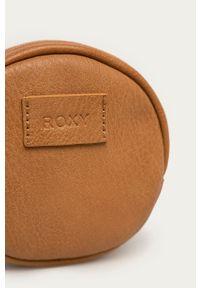 Roxy - Portfel. Kolor: brązowy. Materiał: materiał. Wzór: gładki