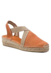Pomarańczowe sandały Toni Pons