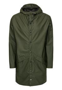 Rains Kurtka przeciwdeszczowa Unisex 1202 Zielony Regular Fit. Kolor: zielony #9