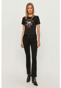 Czarne jeansy bootcut G-Star RAW gładkie