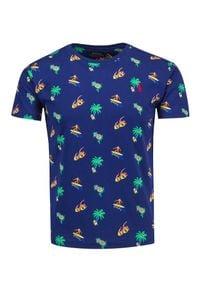 Polo Ralph Lauren - T-shirt POLO RALPH LAUREN SSCNCMSLM3. Typ kołnierza: polo. Materiał: bawełna, prążkowany. Długość: krótkie. Wzór: aplikacja, nadruk. Styl: wakacyjny