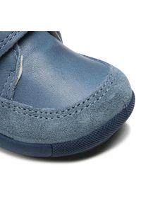 Primigi - Trzewiki PRIMIGI - 7369011 Jean. Kolor: niebieski. Materiał: skóra, zamsz. Szerokość cholewki: normalna. Sezon: zima
