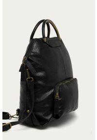 Czarny plecak ANSWEAR wakacyjny, gładki