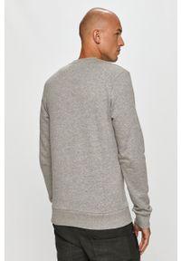 PRODUKT by Jack & Jones - Produkt by Jack & Jones - Bluza bawełniana. Okazja: na co dzień. Kolor: szary. Materiał: bawełna. Wzór: nadruk. Styl: casual