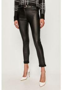 Czarne spodnie materiałowe Haily's
