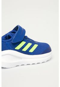 Niebieskie buty sportowe adidas Performance do biegania, z cholewką