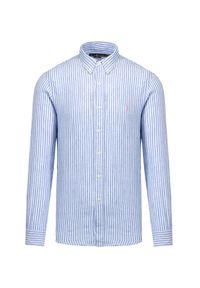 Koszula Polo Ralph Lauren sportowa, z długim rękawem, polo, w paski