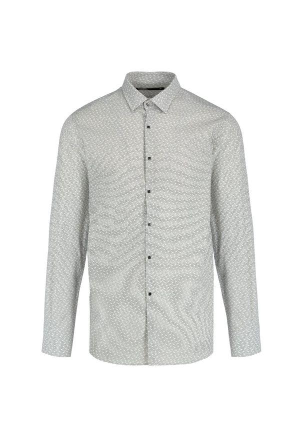 Szara koszula Karl Lagerfeld