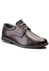 Czarne buty komunijne Tim