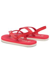 Jack Wolfskin - Sandały JACK WOLFSKIN - Eezy K 4038761 S Red/White Sand. Kolor: czerwony. Sezon: lato. Styl: wakacyjny, młodzieżowy