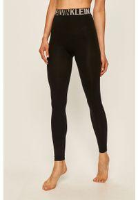 Czarne legginsy Calvin Klein z podwyższonym stanem