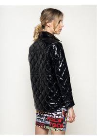 Brązowy płaszcz przejściowy Pinko