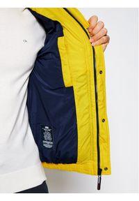 Żółta kurtka zimowa Tommy Jeans