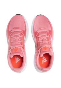 Różowe buty do biegania Adidas