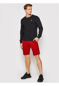 Tommy Jeans Szorty materiałowe Scanton DM0DM11076 Czerwony Slim Fit. Kolor: czerwony. Materiał: materiał