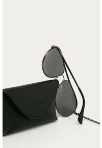 Czarne okulary przeciwsłoneczne Guess Jeans