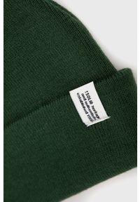 !SOLID - Solid - Czapka. Kolor: zielony. Materiał: dzianina