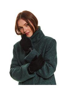 Czarne rękawiczki TOP SECRET klasyczne