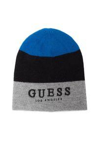 Czarna czapka Guess