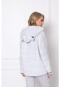 Aruelle - Bluza piżamowa Marthine. Kolor: szary. Długość: długie
