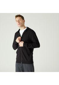 Bluza sportowa DOMYOS z kapturem, na fitness i siłownię