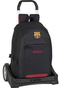 FC Barcelona Torba szkolna z kółkami Evolution F.C. Barcelona Czarny. Kolor: czarny