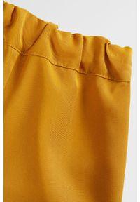 Żółte spodenki Mango Kids na co dzień, casualowe