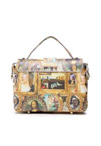 Creole - Torebka CREOLE - K10842 Mona Lisa. Kolor: złoty. Materiał: skórzane
