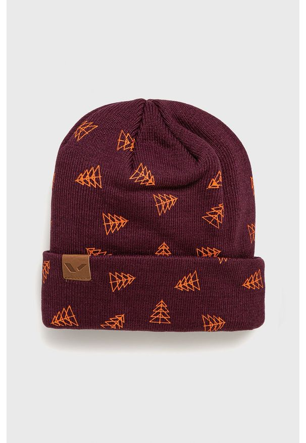 Fioletowa czapka Viking