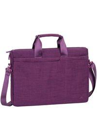 Fioletowa torba na laptopa RIVACASE
