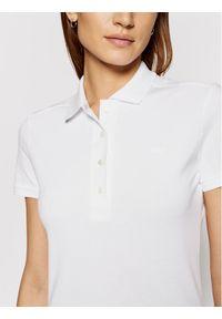 Biała koszulka polo Lacoste polo