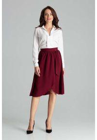 Czerwona spódnica Katrus