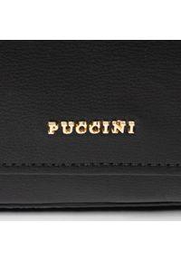 Czarna torebka klasyczna Puccini klasyczna