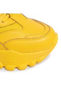 Żółte półbuty Togoshi z cholewką, na co dzień, casualowe