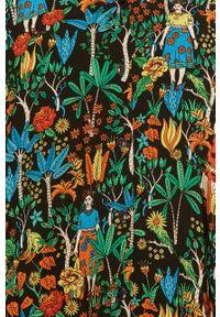Koszula medicine długa, z długim rękawem, w kolorowe wzory