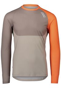 POC Koszulka rowerowa MTB Pure LS Moonstone Grey