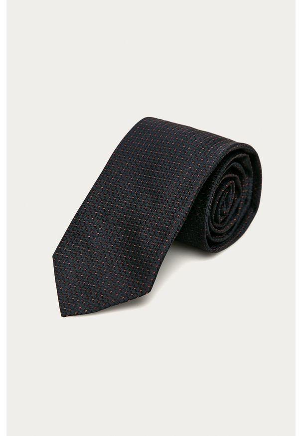 Niebieski krawat Hugo