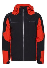 Czarna kurtka sportowa Spyder narciarska