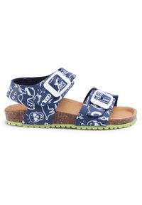 Niebieskie sandały Garvalin klasyczne, na lato