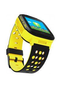 Smartwatch ART Watch Phone Go SGPS-02Y Żółty. Rodzaj zegarka: smartwatch. Kolor: żółty