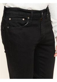 Levi's® Jeansy 511™ 04511-1507 Czarny Slim Fit. Kolor: czarny. Materiał: jeans, elastan, bawełna