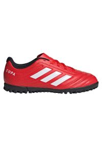 Adidas - Buty piłkarskie turfy dla dzieci adidas Copa 20.4 TF EF1925. Okazja: na imprezę. Materiał: syntetyk, skóra. Szerokość cholewki: normalna. Sezon: lato. Sport: piłka nożna
