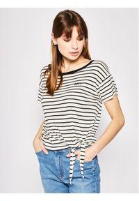 Beżowy t-shirt Roxy